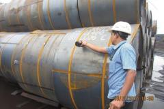 Nitric-Acid-test-on-coil-during-preloading-inspection